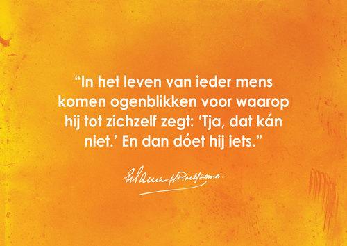 Quote soldaat van Oranje