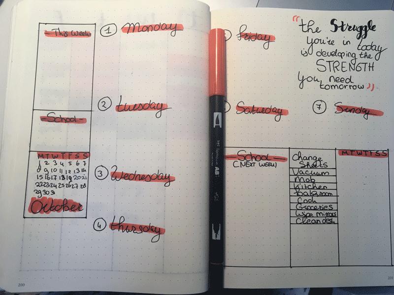 Weekly oktober