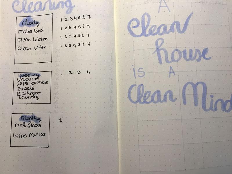 Cleaning Februari