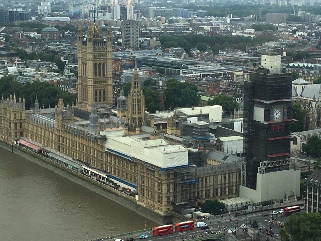 Uitzicht London Eye